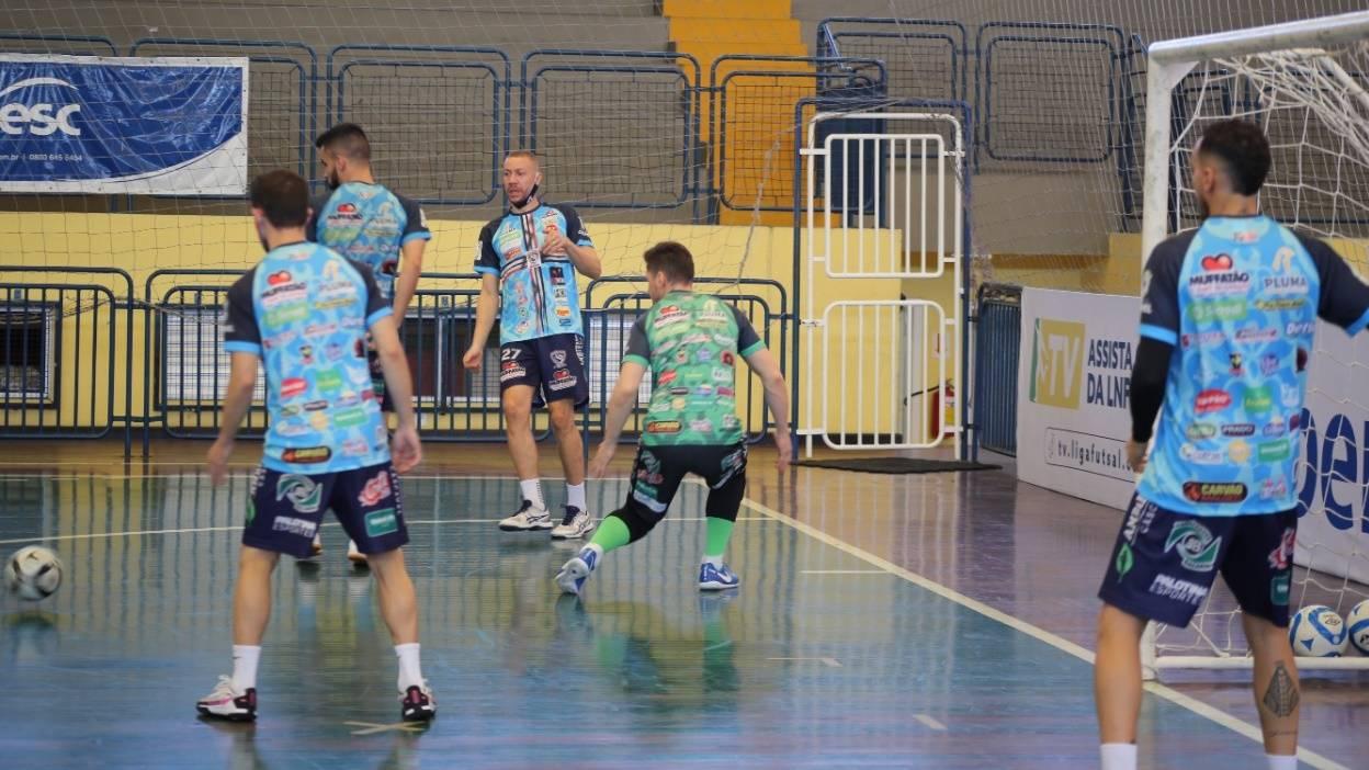 Cascavel Futsal enfrenta o Blumenau fora de casa pela Liga Nacional