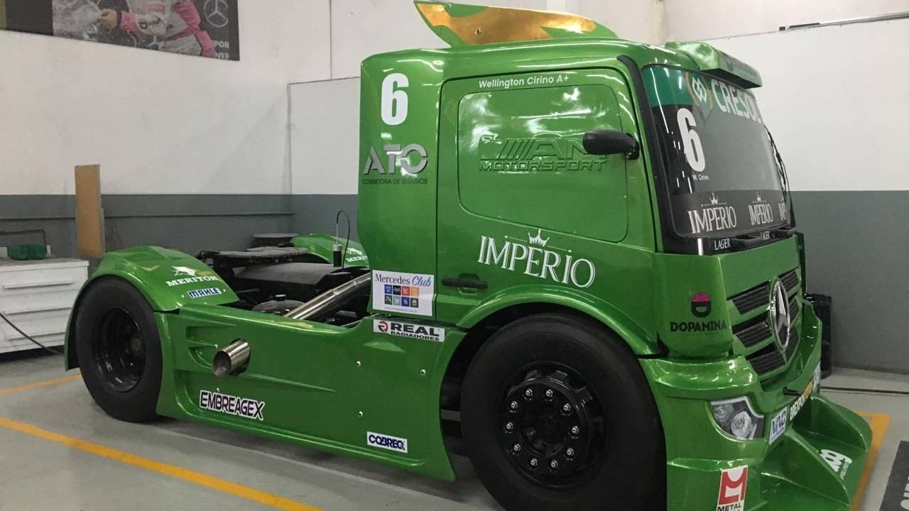Copa Truck: Cirino estreia novo layout em Goiânia