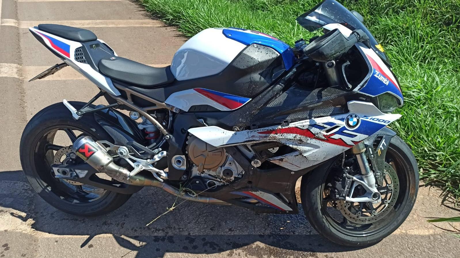 Motociclista fica em estado grave após colisão transversal na BR-467 em Sede Alvorada
