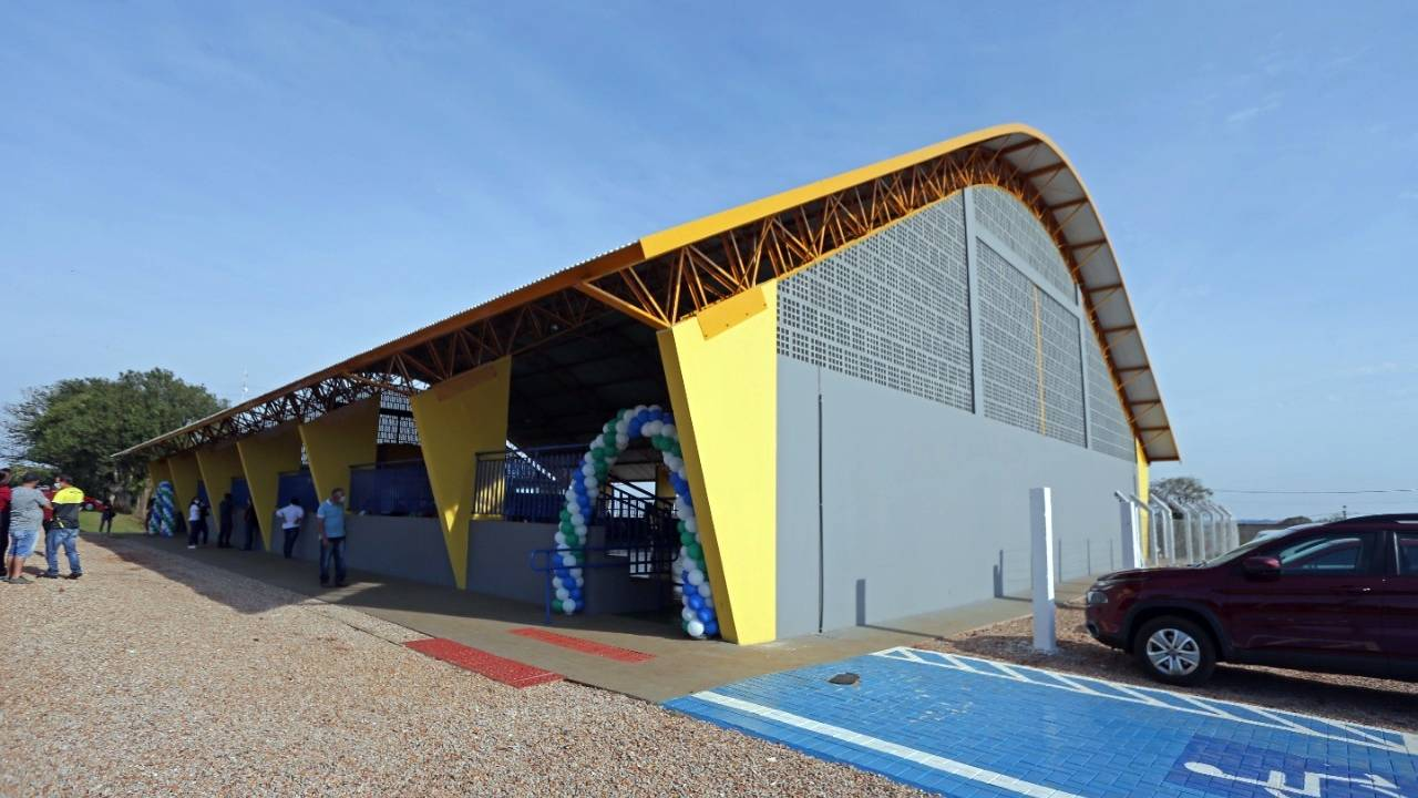 Novo Ginásio de Esportes do Distrito de Juvinópolis é inaugurado