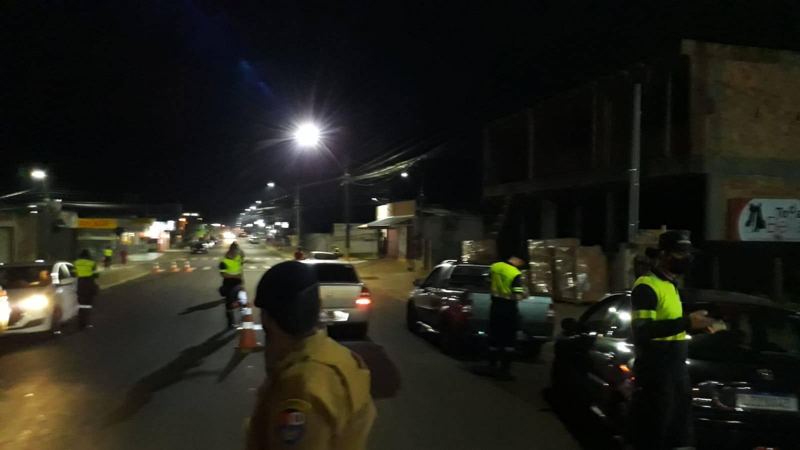 Trânsito: Quatro condutores são presos por embriaguez ao volante em operação da PM/GM e Transitar