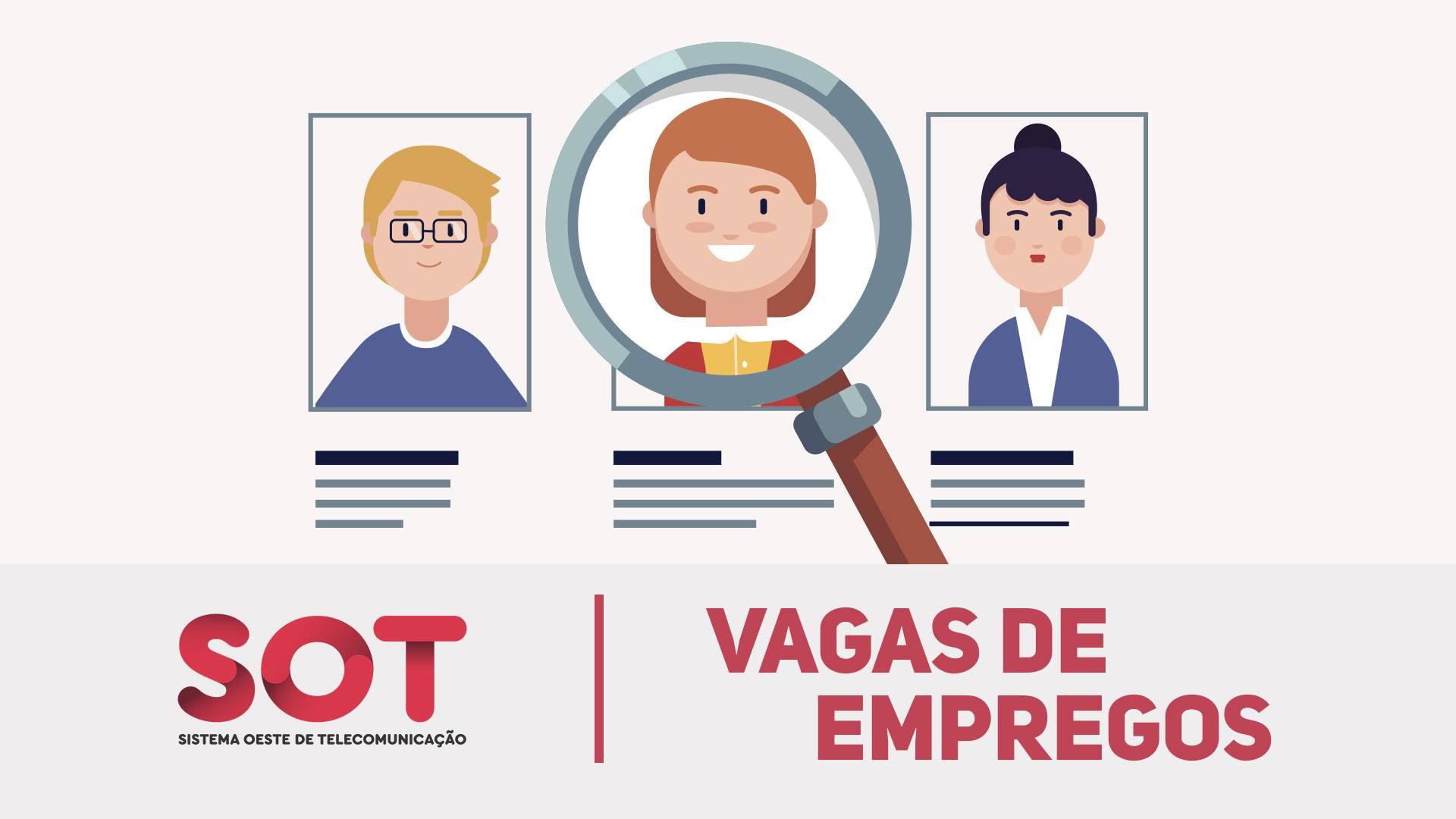 Vagas de Empregos: Veja as principais oportunidades disponíveis nesta quarta-feira (13/10)