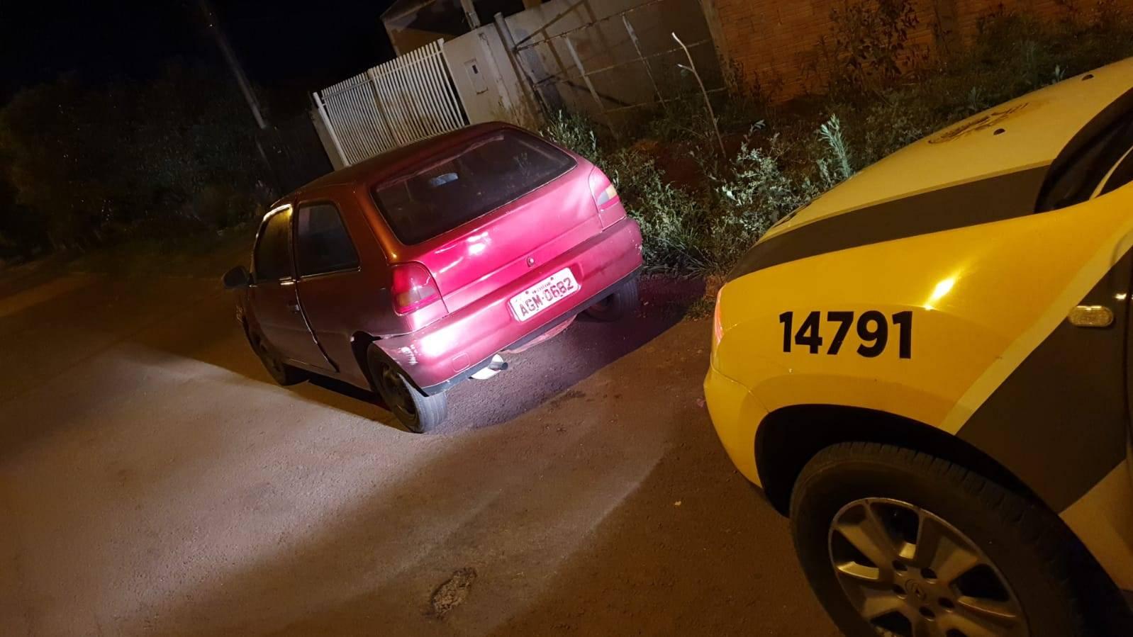 VW/Gol é recuperado pela UPS Santa Cruz no Bairro Esmeralda