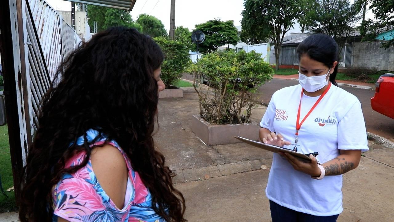 Origem e destino: Pesquisadores coletam informações nas casas