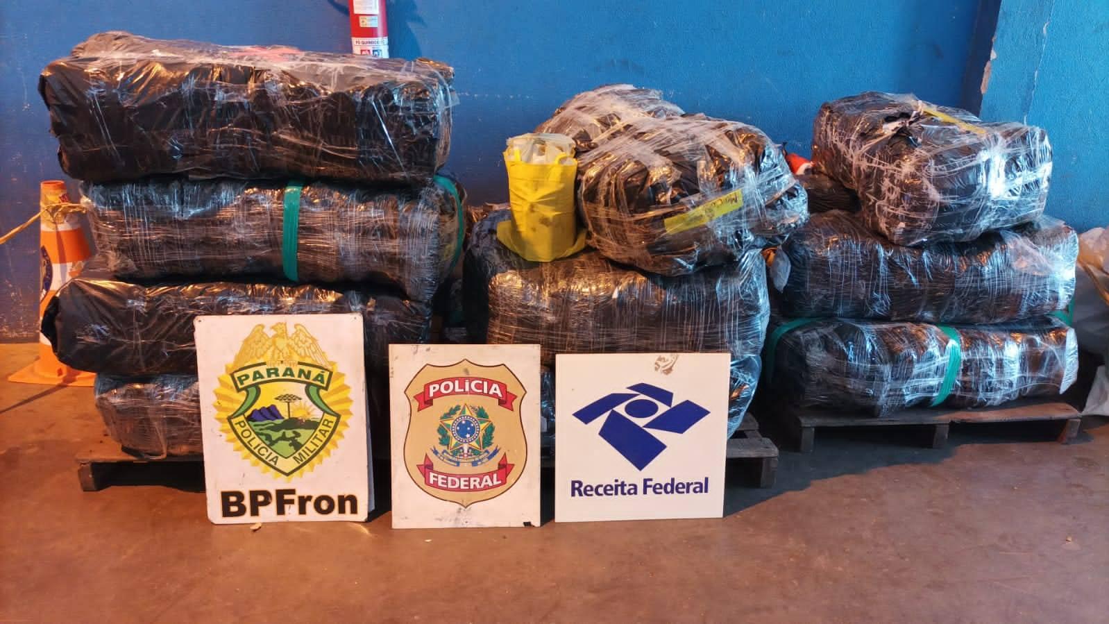 Forças de segurança apreendem mercadorias descaminhadas em Foz do Iguaçu