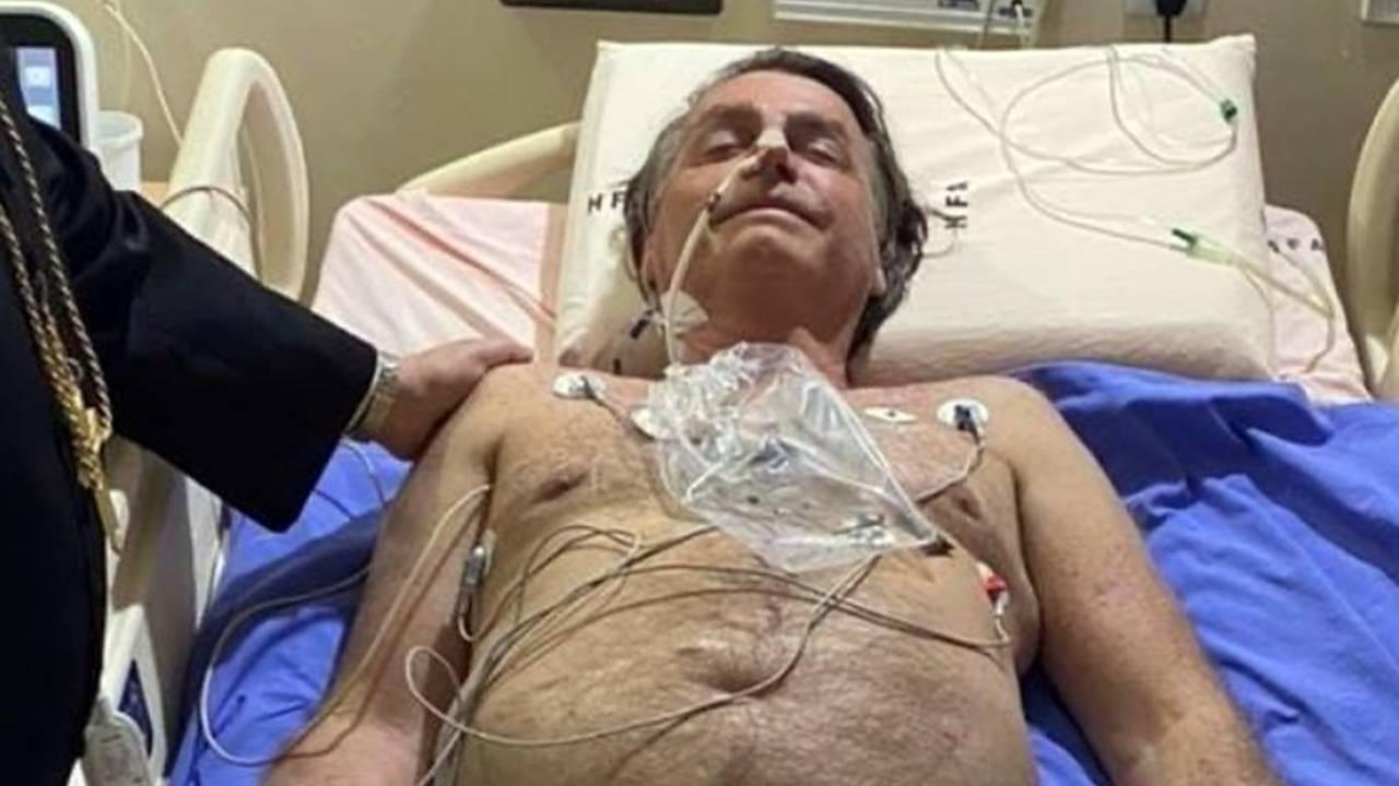 Com obstrução intestinal, presidente será levado para São Paulo
