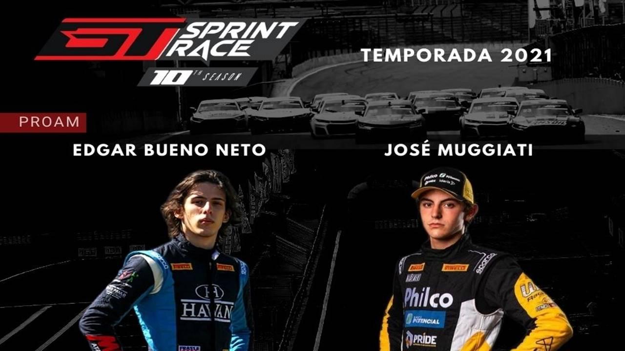 Os paranaenses Edgar Bueno Neto e José Muggiati farão estreia na GT Sprint Race