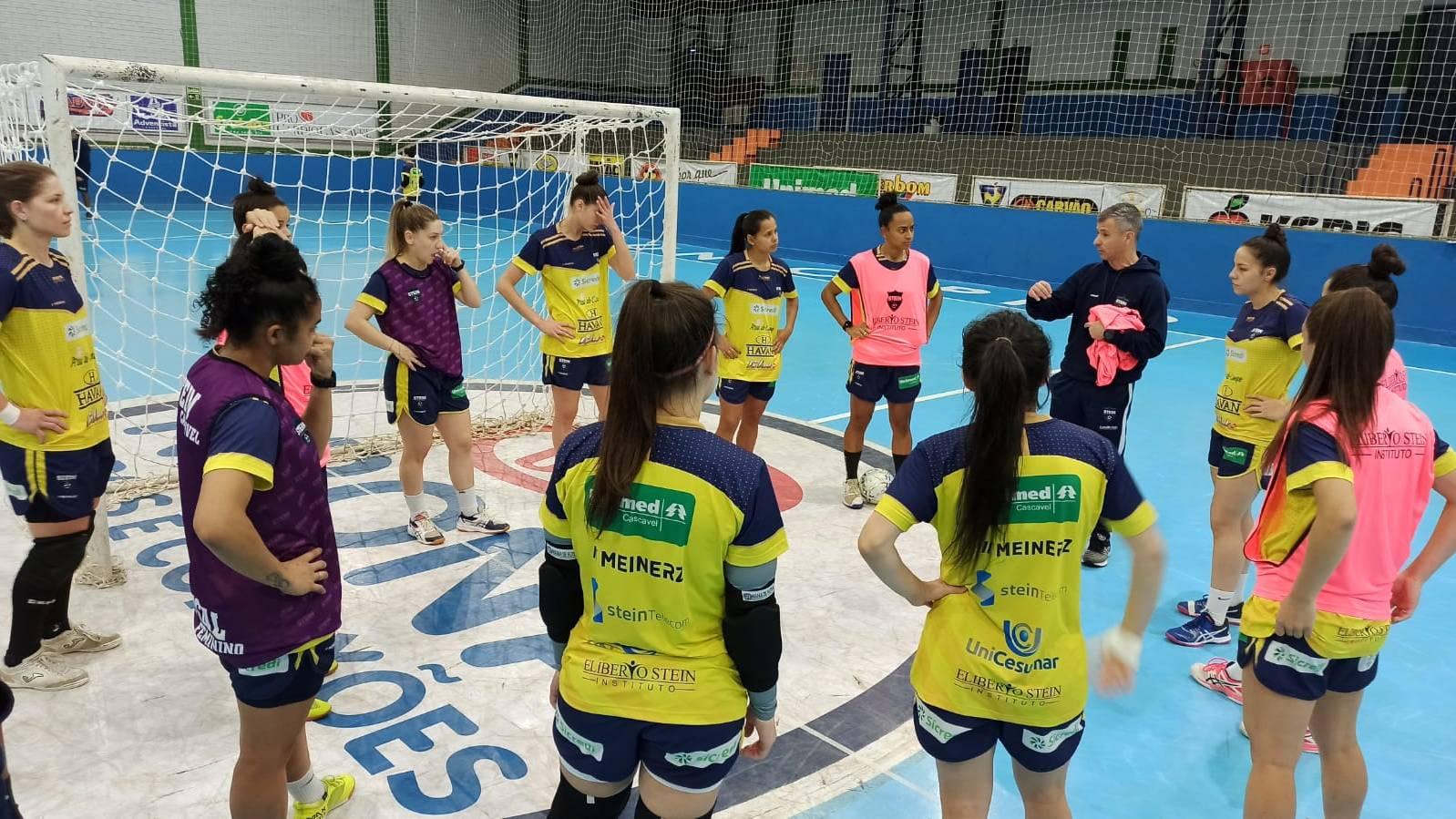 Stein Cascavel Futsal visita o Foz Cataratas pelas quartas do Paranaense
