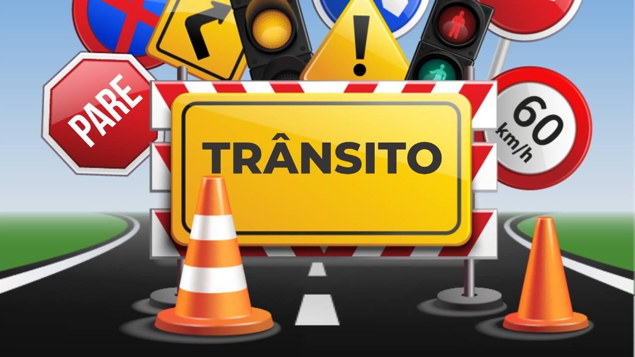 Atenção para interdição de trecho da Rua Rio Grande do Sul neste domingo