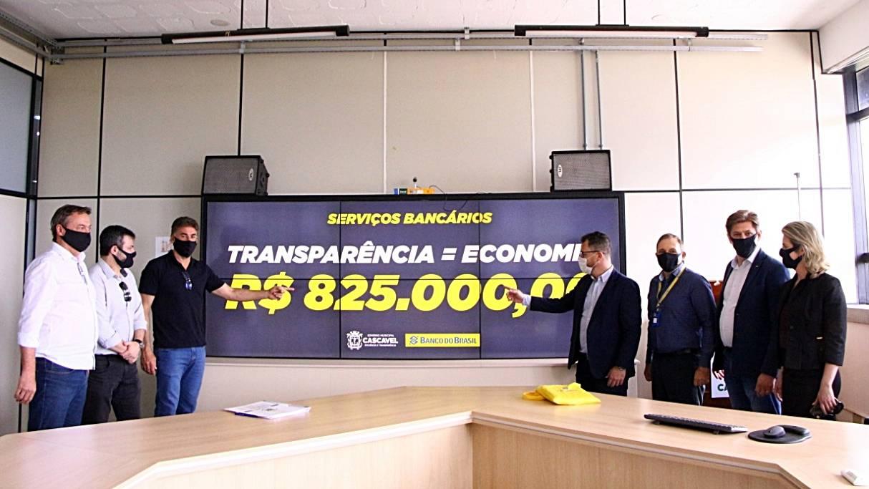 Licitação garante economia anual de R$ 825 mil com serviços bancários
