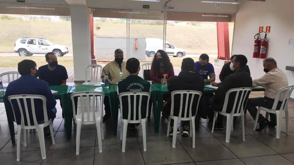 Reunião analisa realização da Fase Final dos 67º Jogos Escolares do Paraná em Cascavel