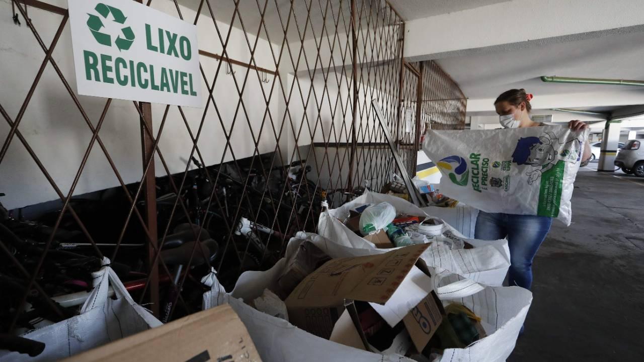 Meio Ambiente intensifica campanha de de coleta seletiva em Cascavel