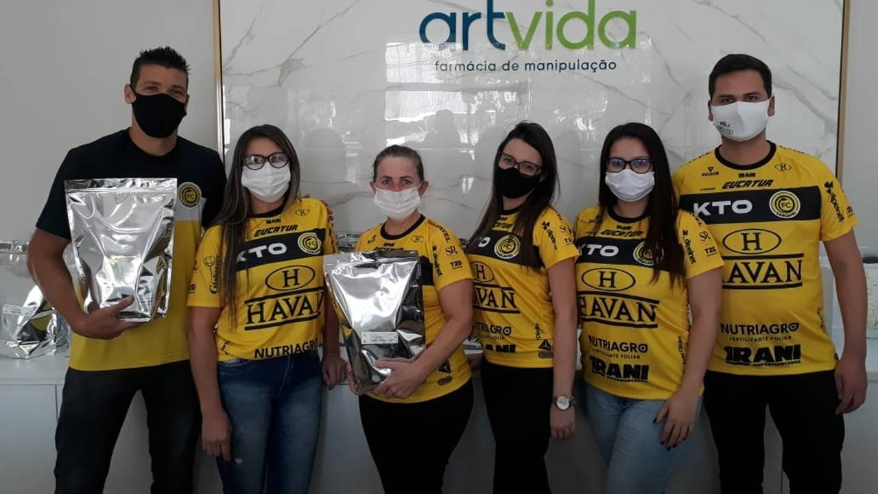 Bons resultados são construídos fora de campo: Artvida, patrocinadora e fornecedora do FC Cascavel
