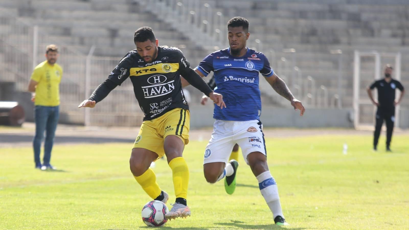 FC Cascavel empata com Aimoré em 2x2 e garante classificação para próxima fase da Série D
