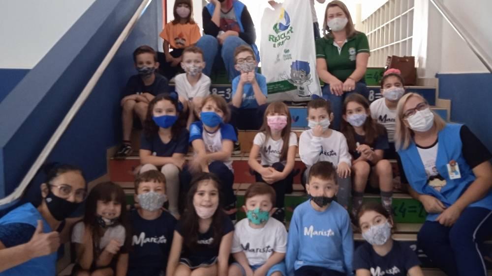 Secretaria do Meio Ambiente apoia projeto de colégio sobre consumo consciente