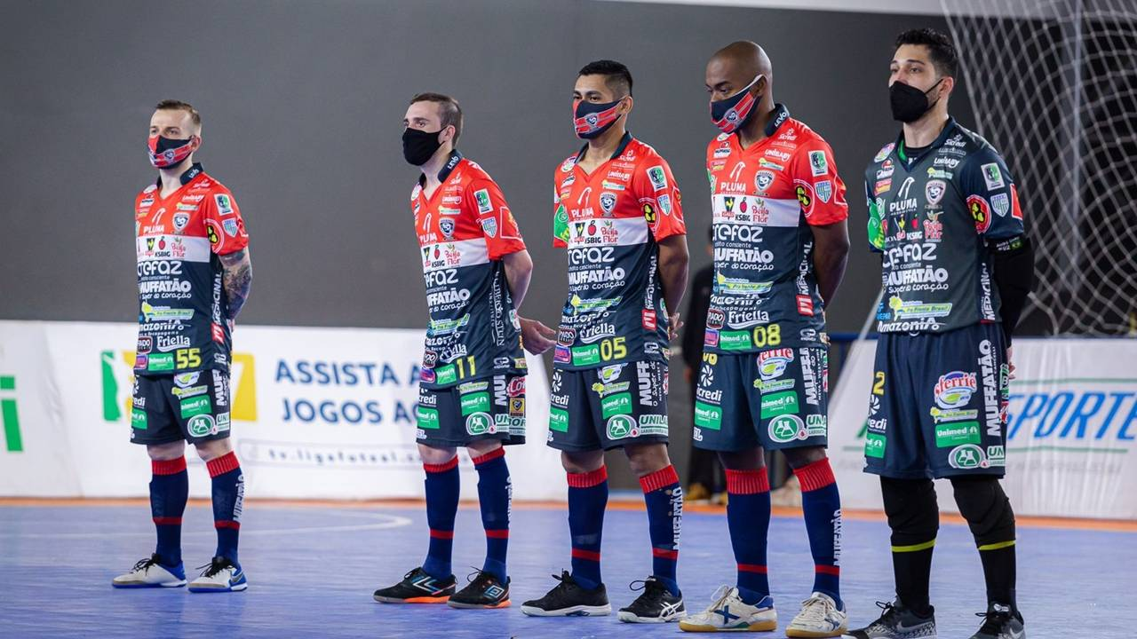 Com apoio da torcida, Cascavel Futsal quer manter boa fase e chegar na semifinal da Série Ouro