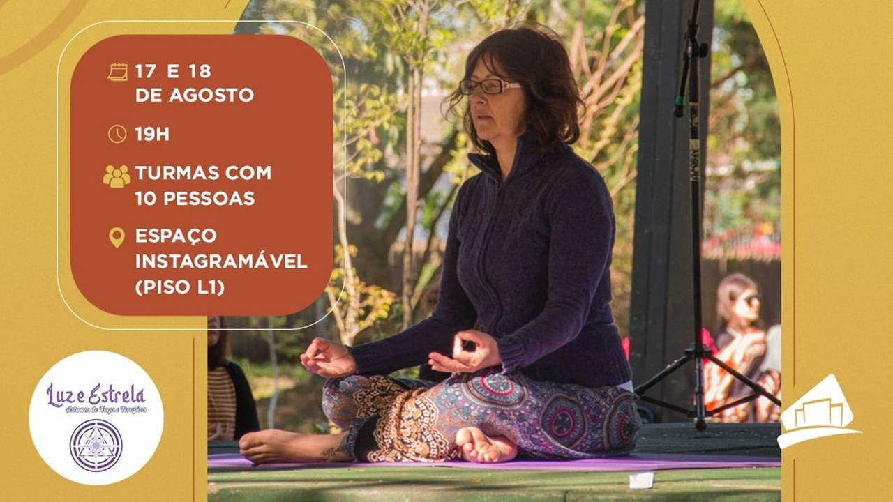 Experiências em Shopping de Cascavel terá workshops de yoga e aromas para ambientes