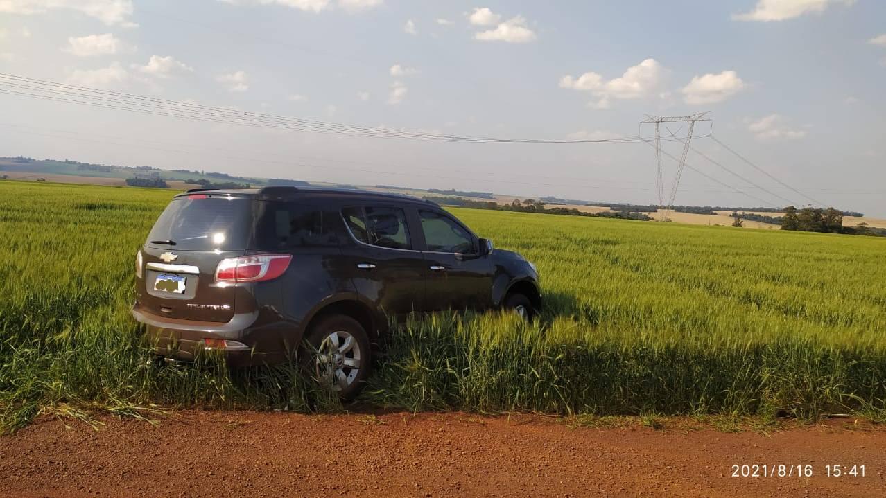 Patrulha Rural recupera GM/Trailblazer furtada em Pérola do Oeste na BR-467