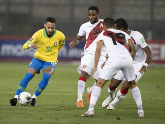 Brasil e Peru se enfrentam pela segunda rodada da CONMEBOL Copa América 2021