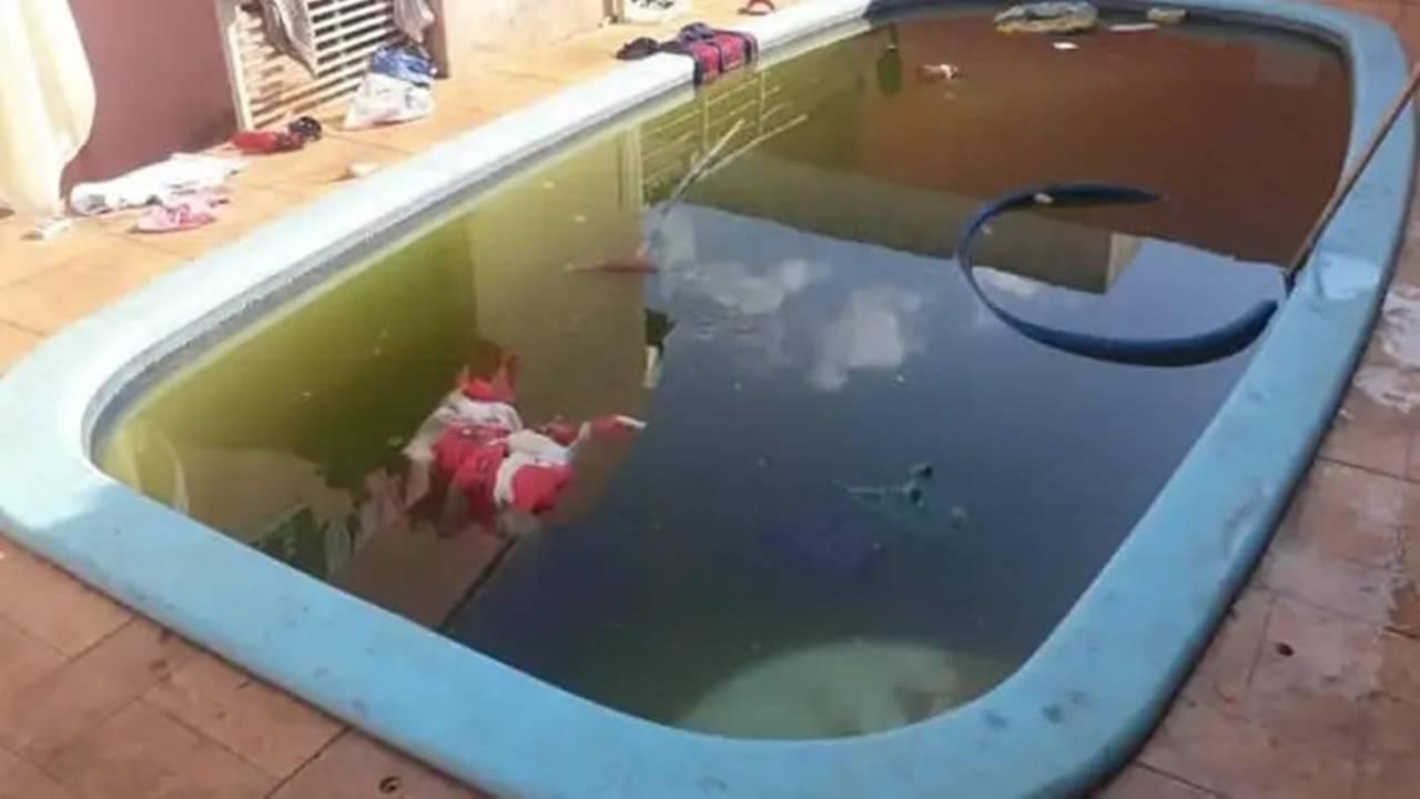 Criança de 2 anos morre afogada após cair em piscina em Londrina