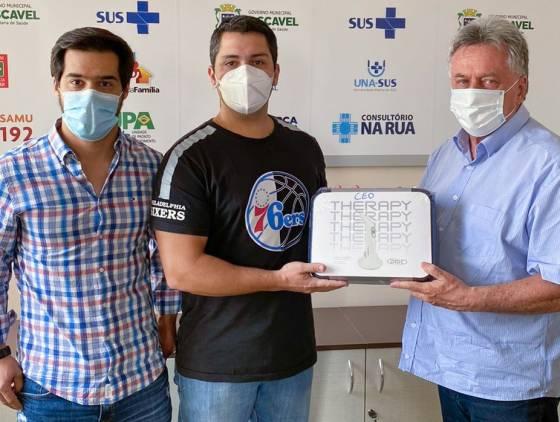Divisão de Saúde Bucal passa contar com aparelho de laserterapia