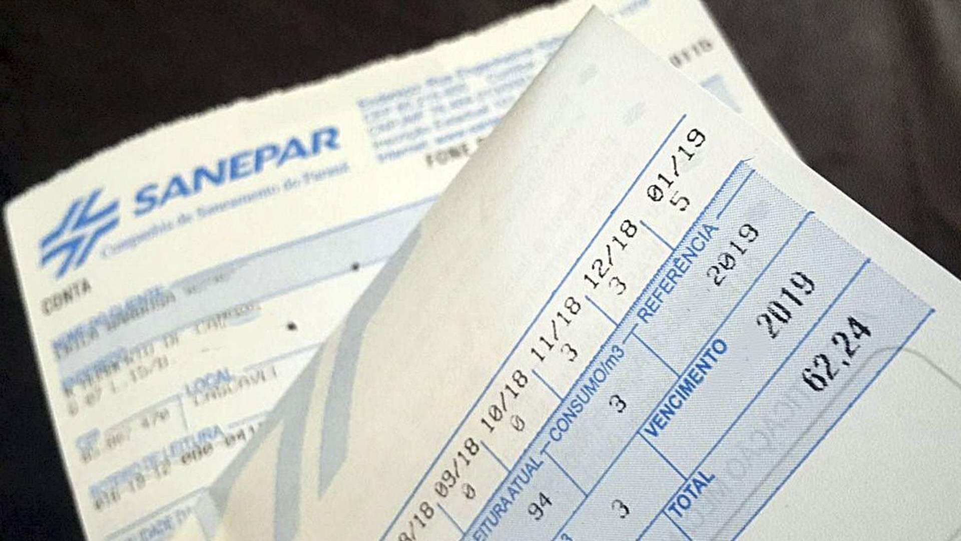 Sanepar inicia programa de parcelamento de dívidas em até 60 meses