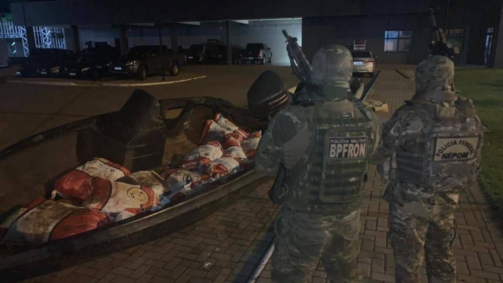 Polícia Federal e BPFRON realizam nova apreensão de agrotóxicos avaliados em R$550.000,00