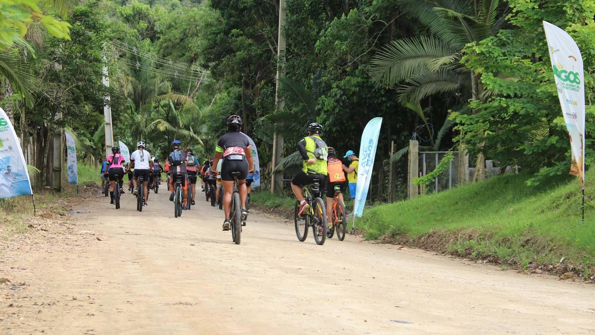 Governo lança o Pedala Paraná, de incentivo ao esporte e turismo