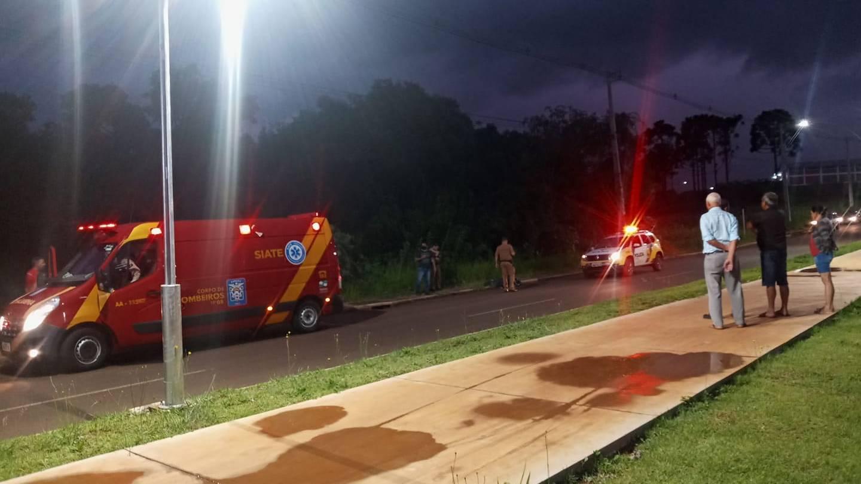 Homem é morto em frente ao Lago II em Laranjeiras do Sul