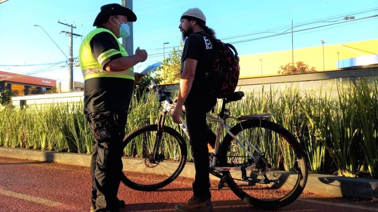 Ciclista Cidadão: Transitar enfoca a segurança e a vida no trânsito também no modal bicicleta