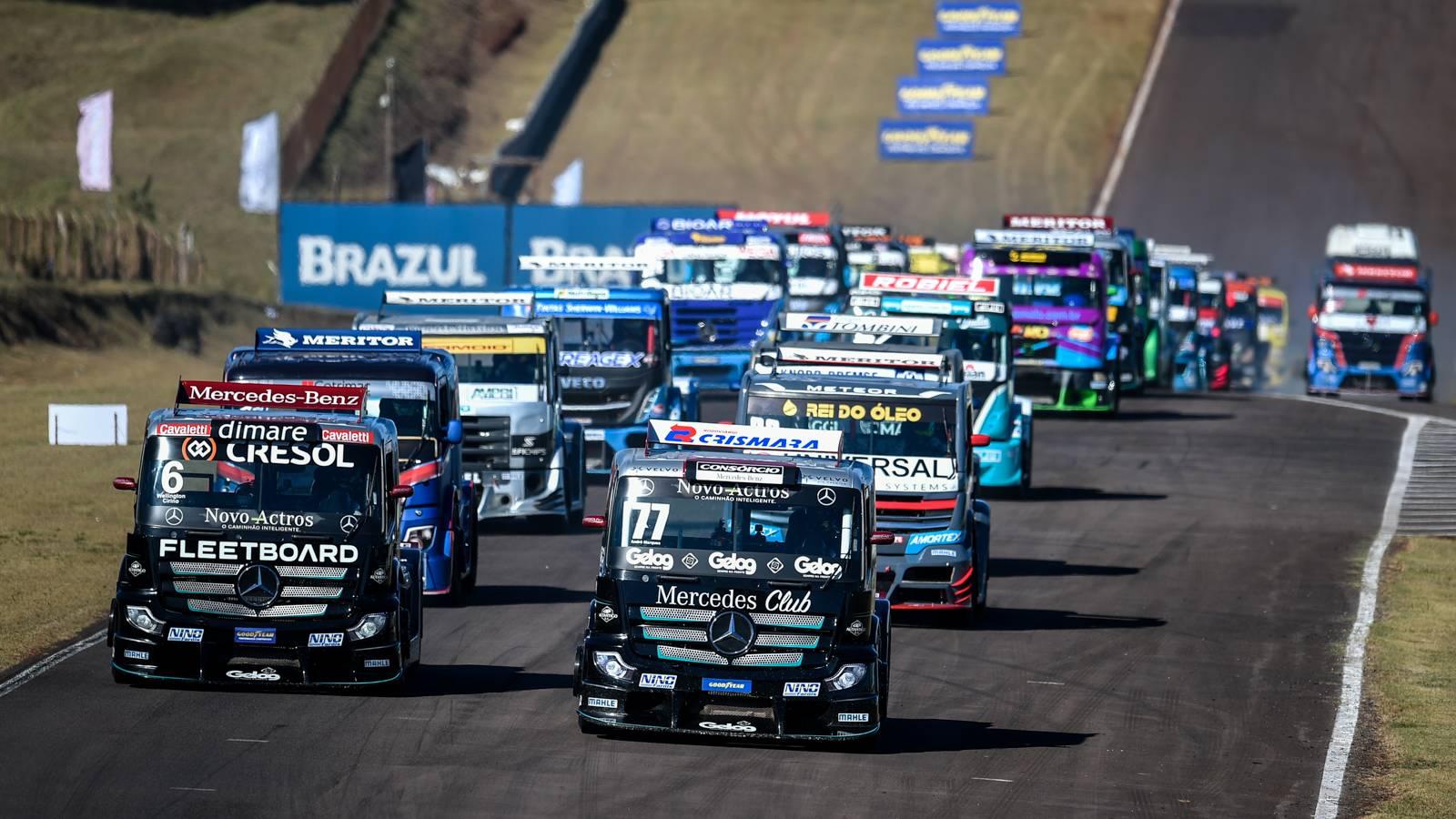 Copa Truck: André Marques e Danilo Dirani vencem novamente em Cascavel
