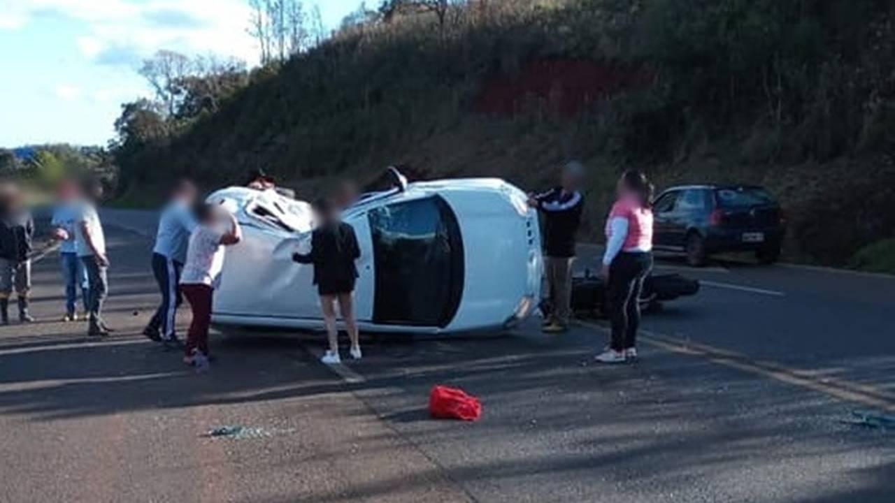 Duas pessoas morrem em gravíssimo acidente de trânsito na BR-373