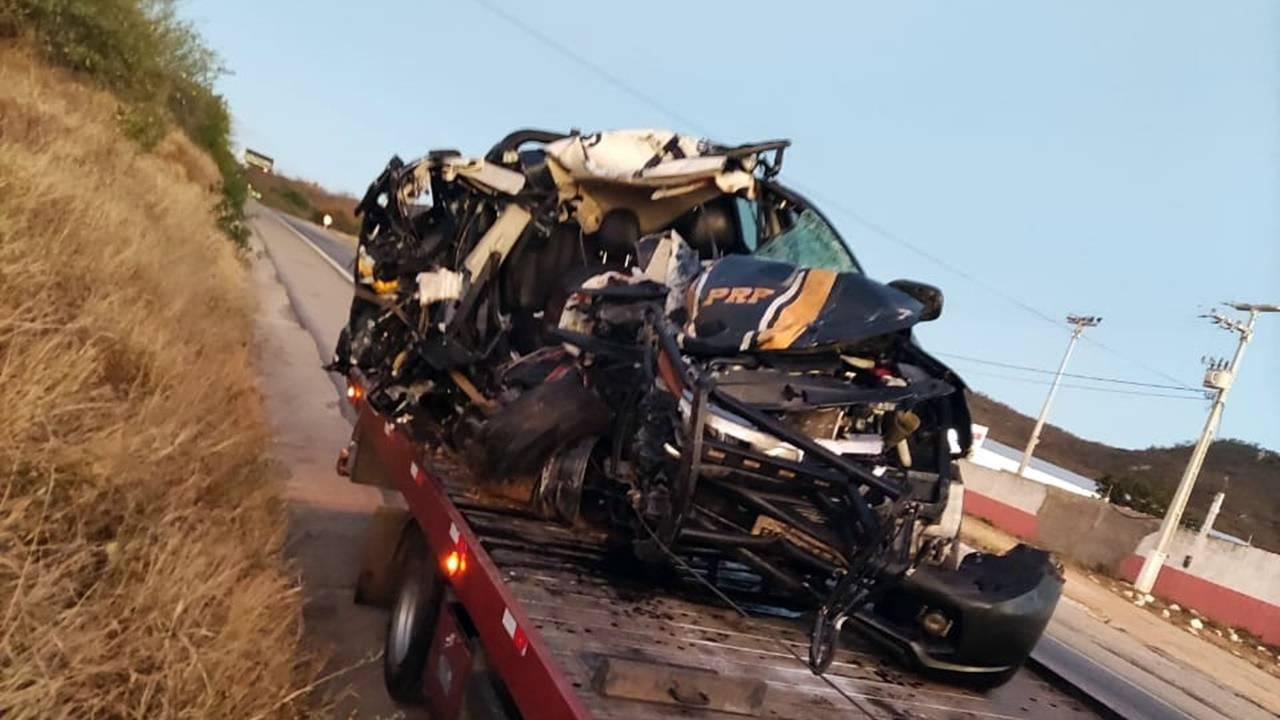 Policial Rodoviário Federal morre em gravíssimo acidente de trânsito na BR-316