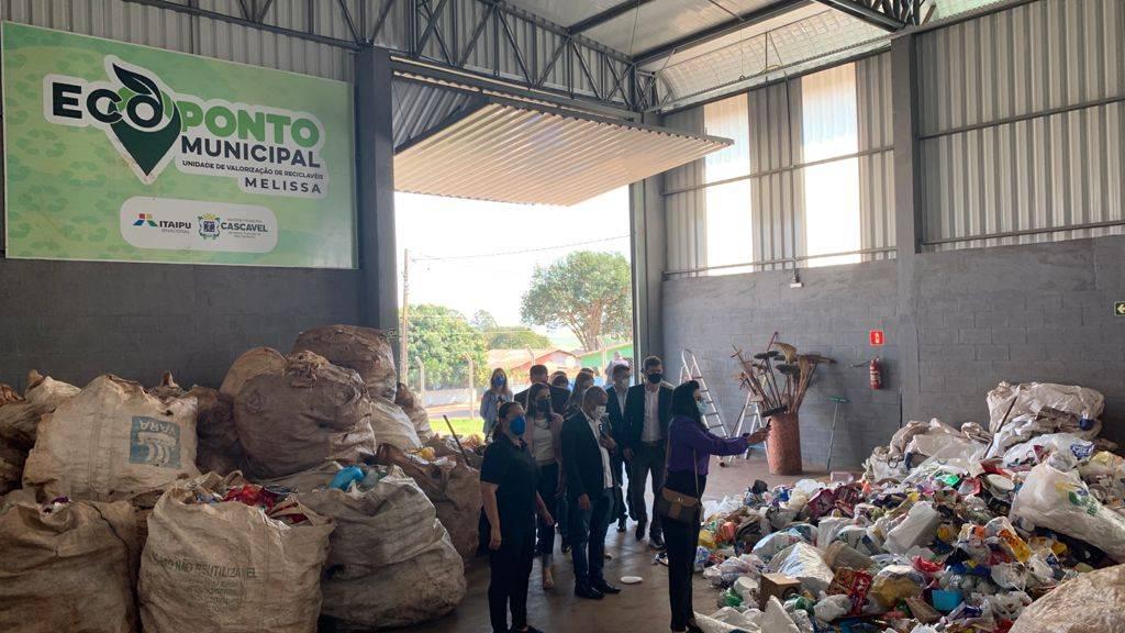 Experiências ambientais de Cascavel atraem comitiva do Mato Grosso