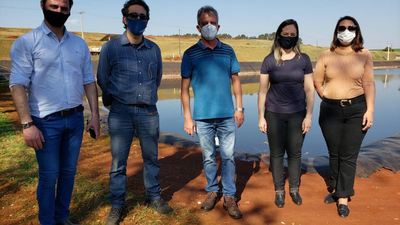 Gestores de Francisco Beltrão conhecem a produção de energia de Biogás e a operação dos Ecopontos