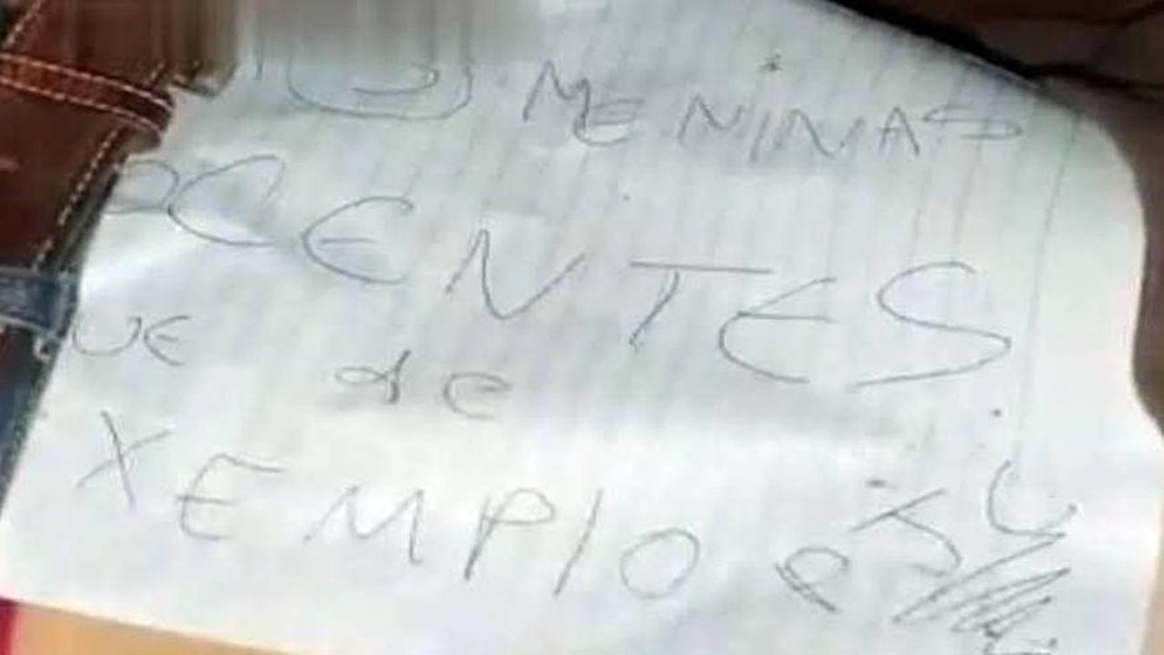 """Mulher de 23 anos encontrada morta no Paraguai com bilhete: """"matei 3 pessoas inocentes"""""""