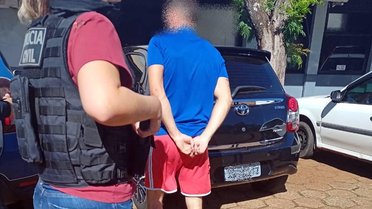 Homem é detido após descumprimento de ordem judicial
