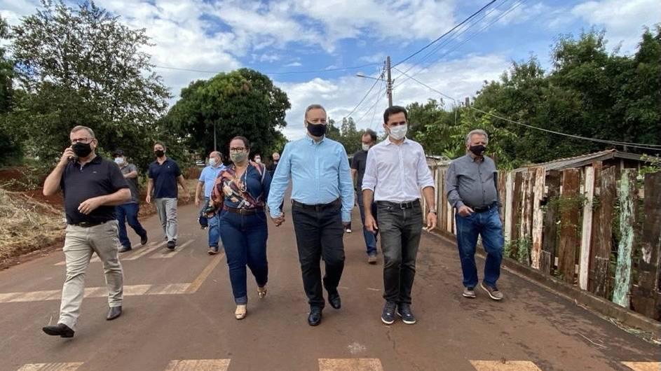 Pacheco anuncia R$ 1 milhão para revitalizar o Córrego da Vila Recife em Ubiratã