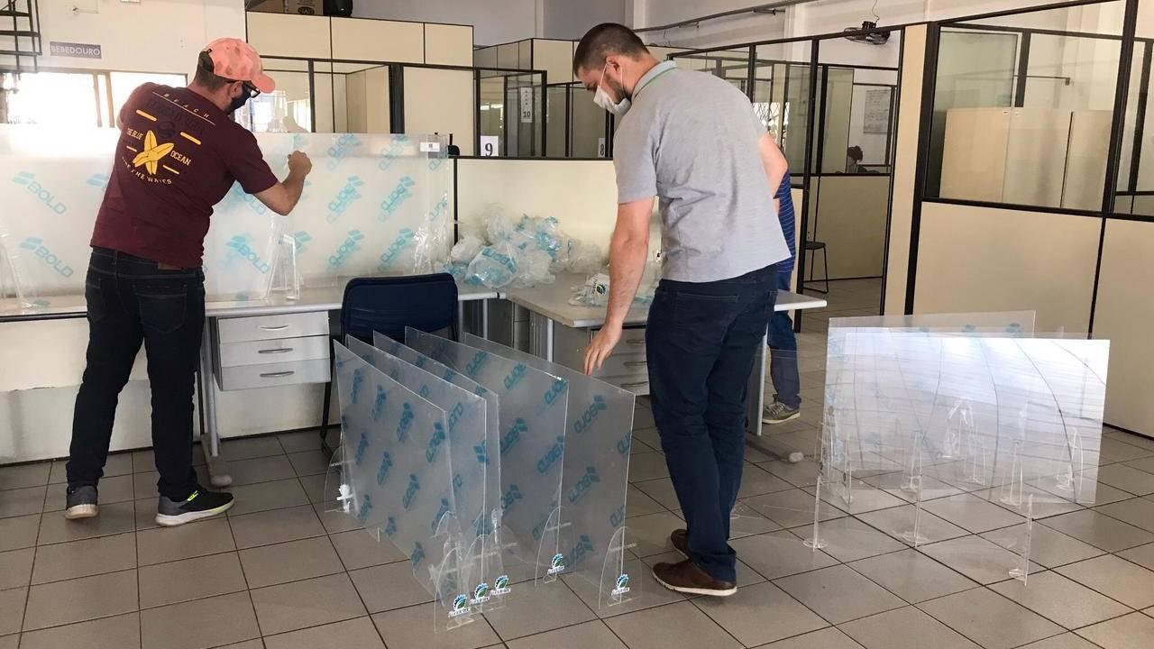 Fundetec produz mais 150 estações de proteção para o atendimento à população