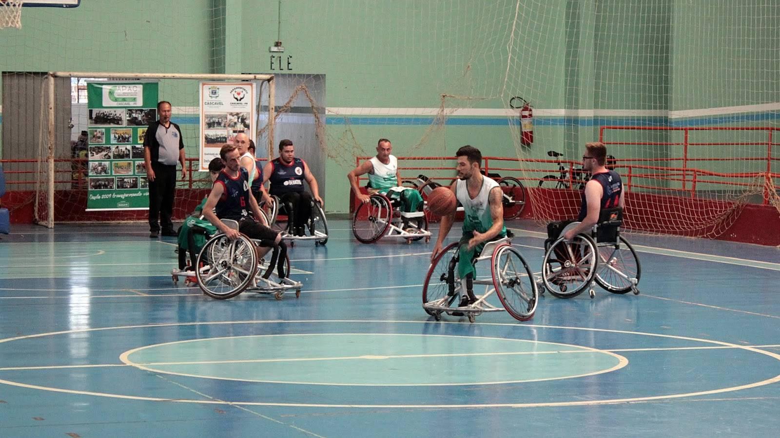 APAC Cascavel vence Harpia e leva o titulo da 1ª Copa Cascavel de Basquete em Cadeira de Rodas