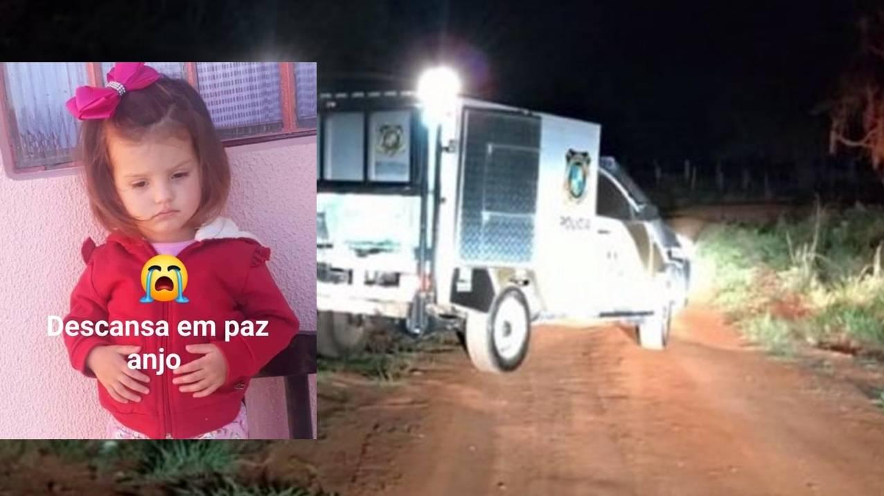 Criança de dois anos morre em acidente no interior de Chopinzinho