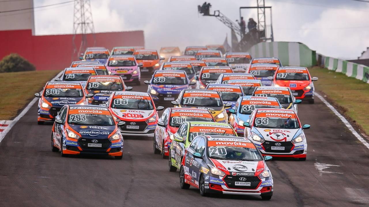Pole positions vencem em Cascavel pela Copa Shell HB20
