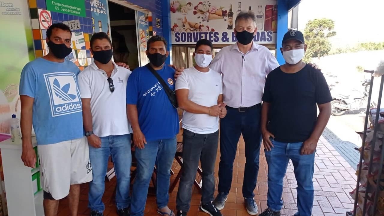 Sadi Kisiel pede mais policiamento contra furtos na região do 14 de Novembro