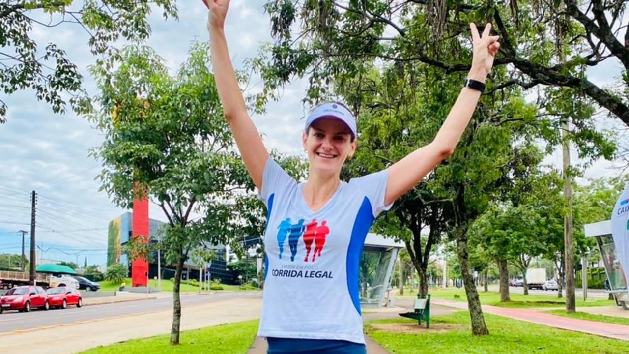 Advogados da OAB Cascavel participam de desafio virtual de corrida