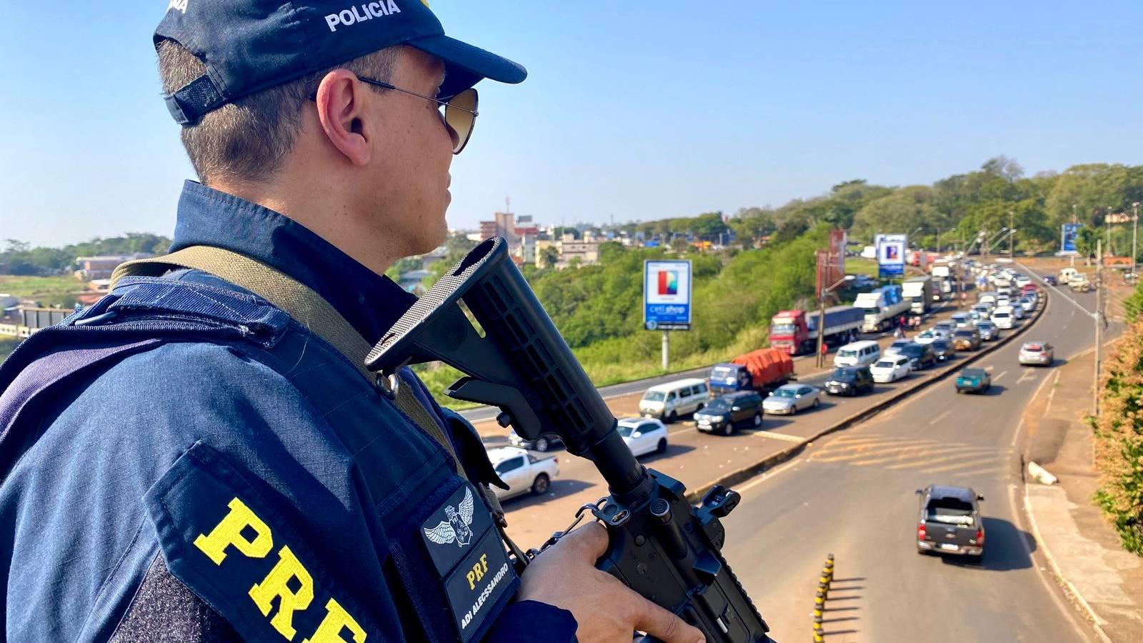 Operação Rapinam da PRF em Foz do Iguaçu
