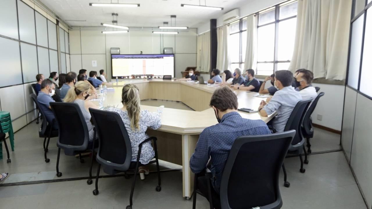 Reunião discute obras do Avança Mais 2021 em parceria com o Paranacidade