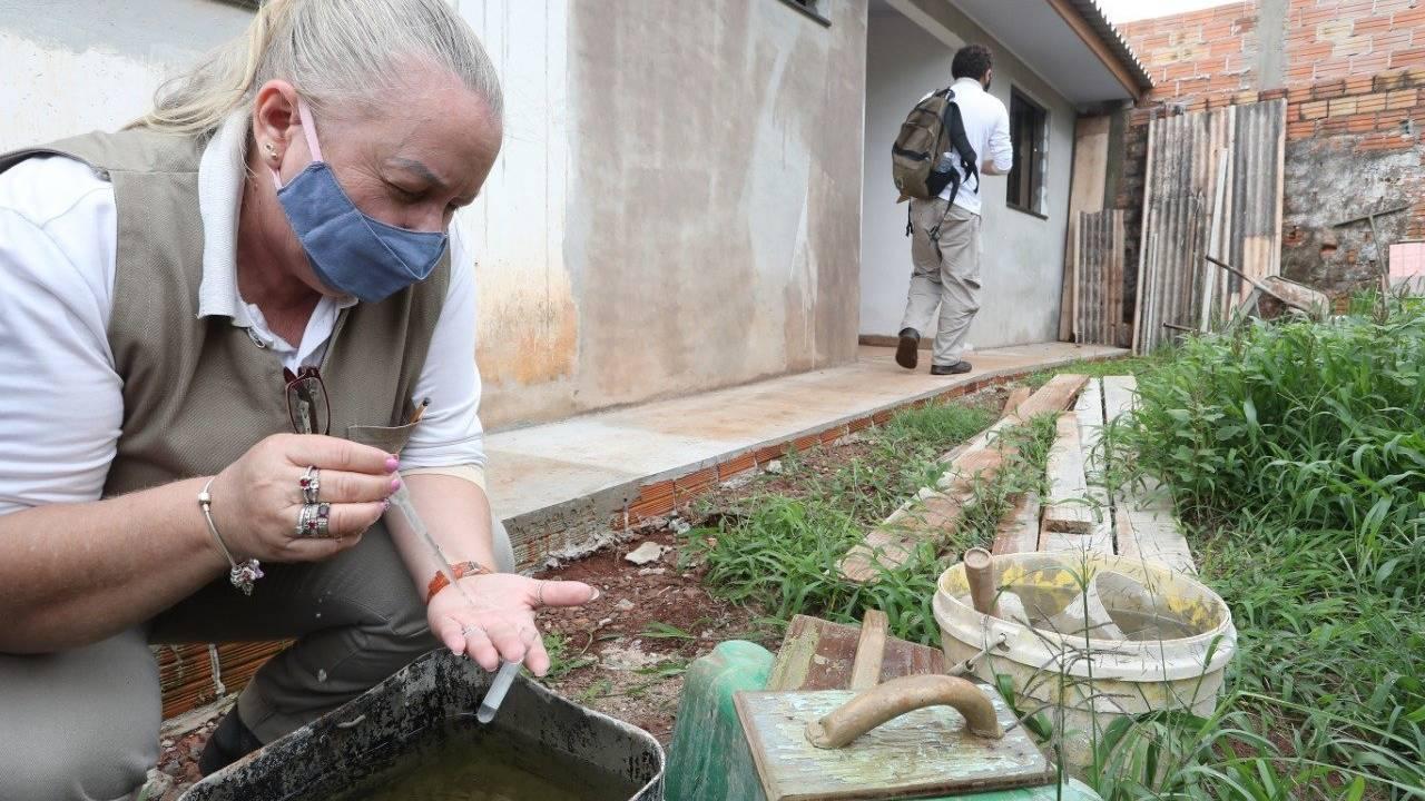 Ações contra a dengue são reforçadas no interior de Cascavel