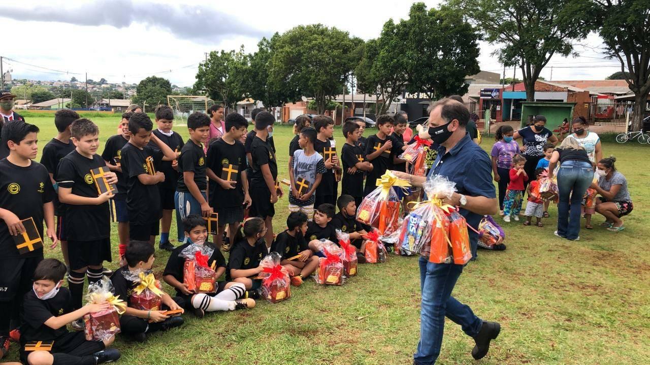 Escolinhas do FC Cascavel realizam evento de encerramento das atividades em 2020