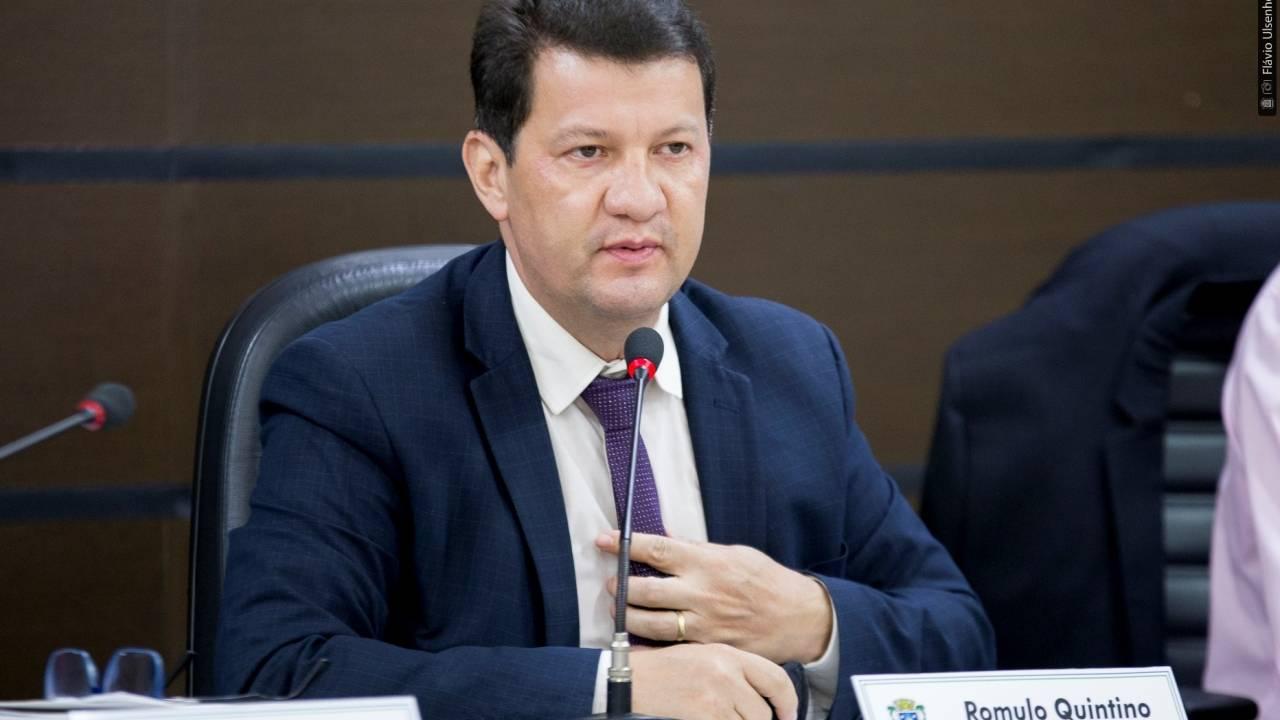 Romulo pede isenção de IPTU e taxa de alvará para comércio que abre à noite