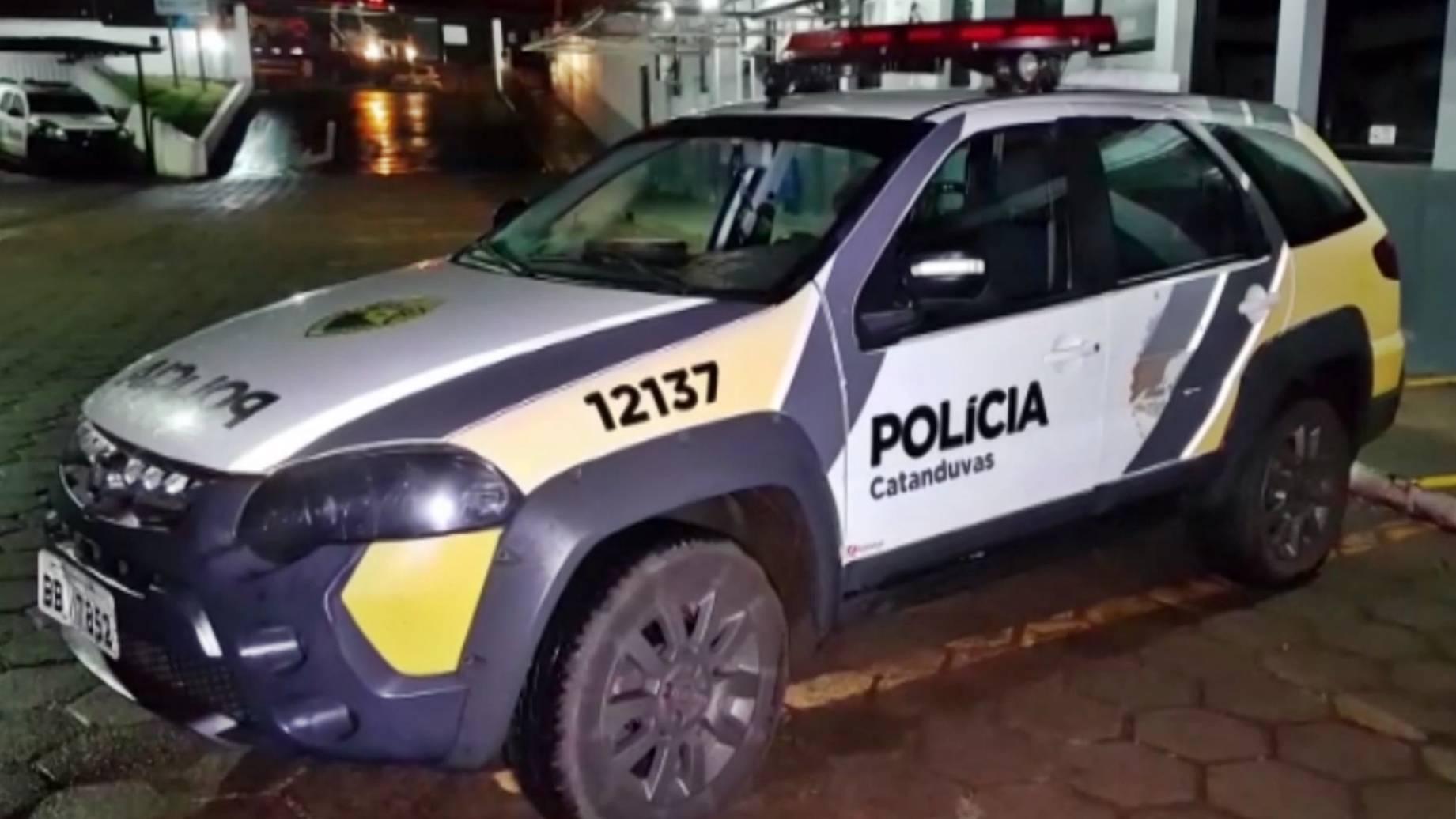 Polícias Civil e Militar de Catanduvas apreende suspeito de matar jovem no Bairro Cascavel Velho
